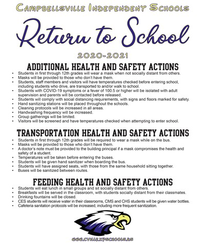 Return to School Plan 3