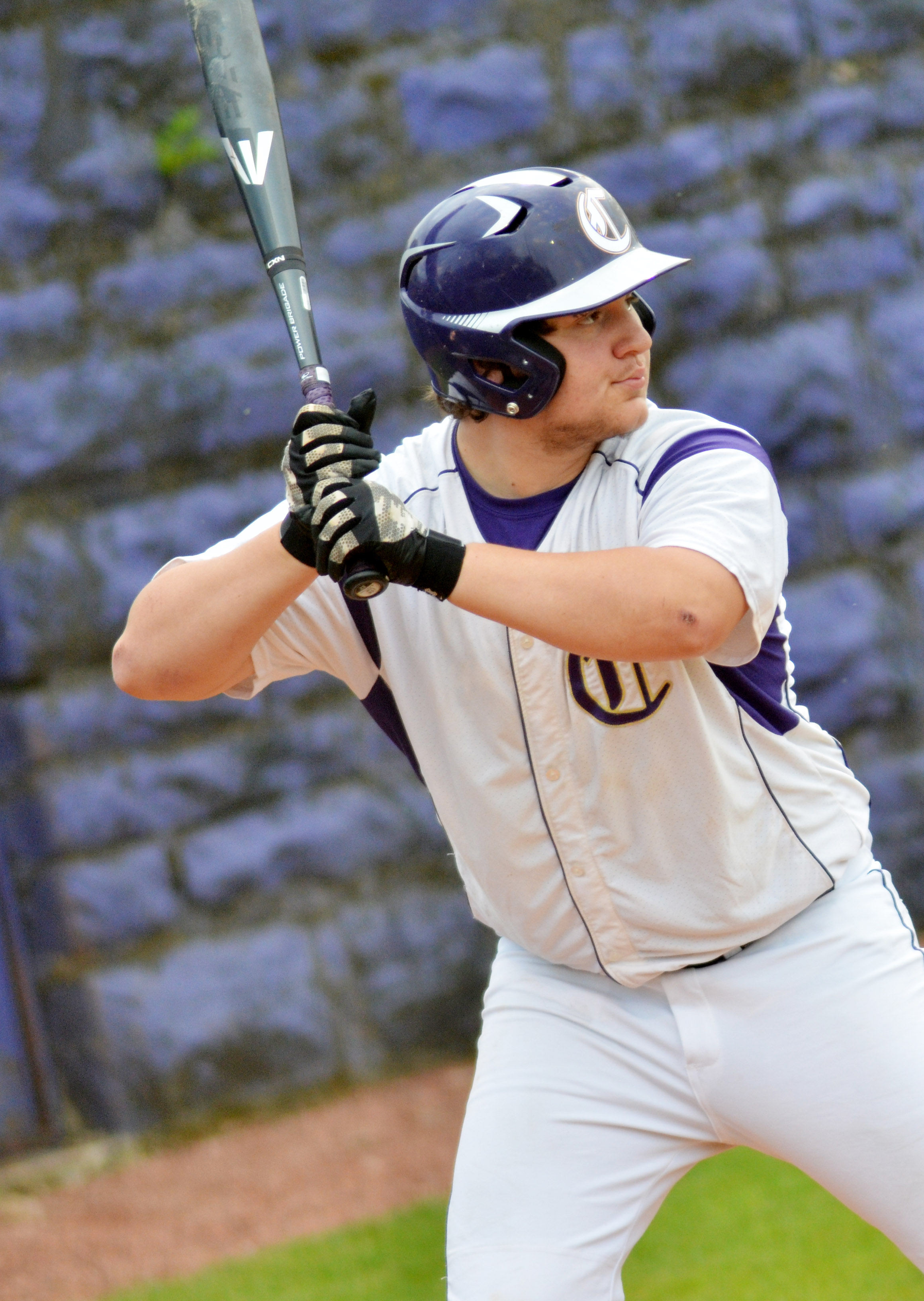 CHS senior Donnie Osinger bats.