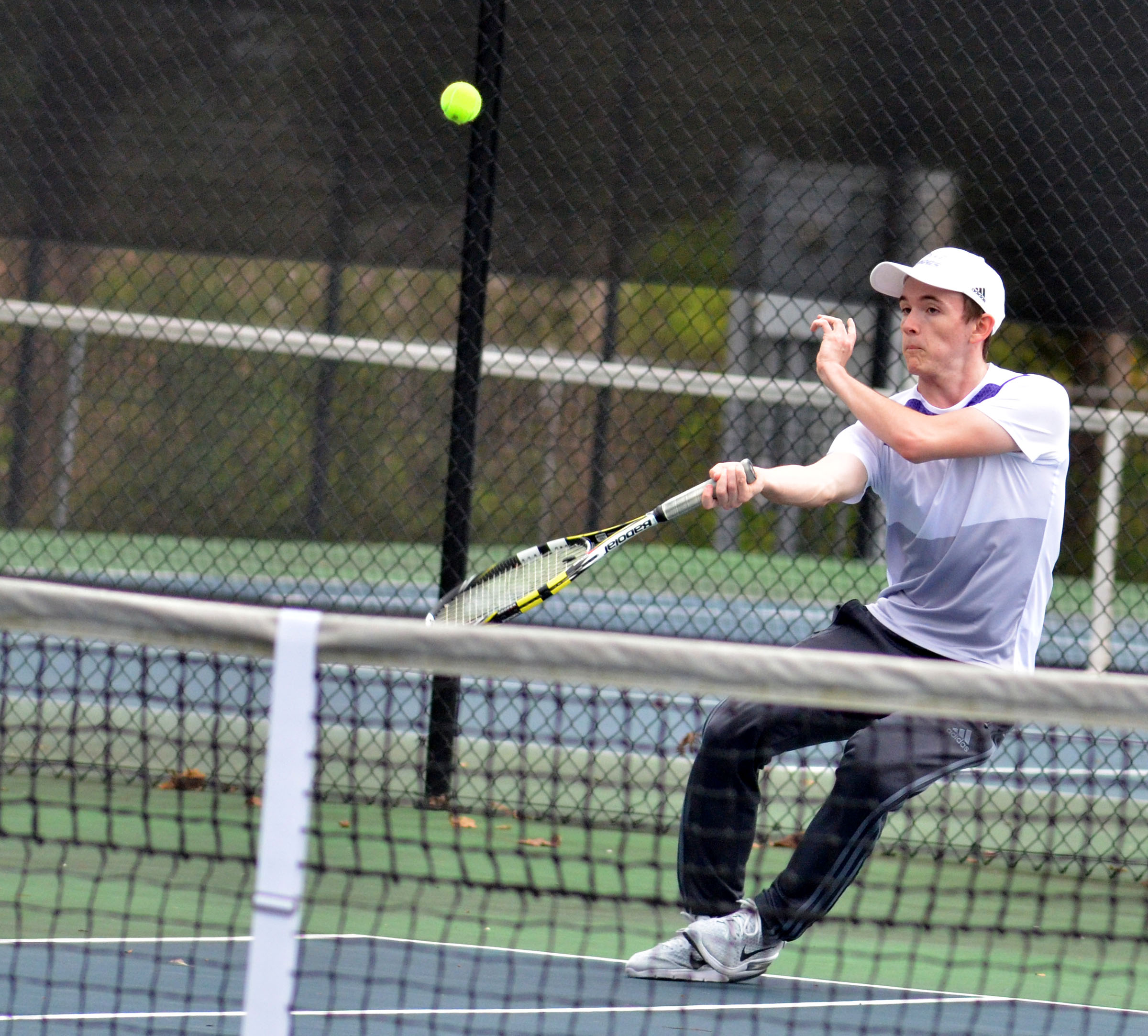 CHS junior Jackson Hunt hits the ball.