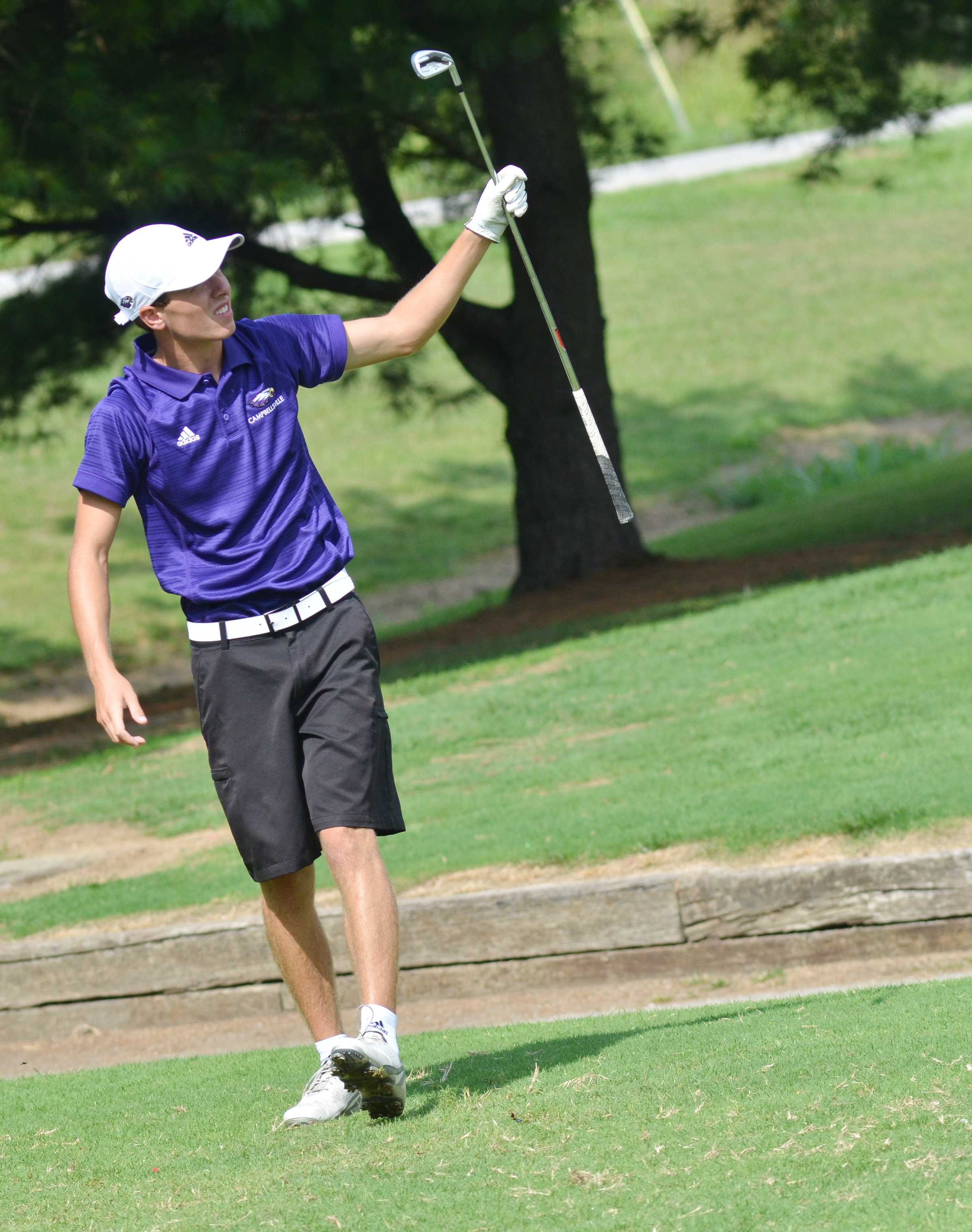 "CHS junior Layton Hord competes in the All ""A"" region tournament."
