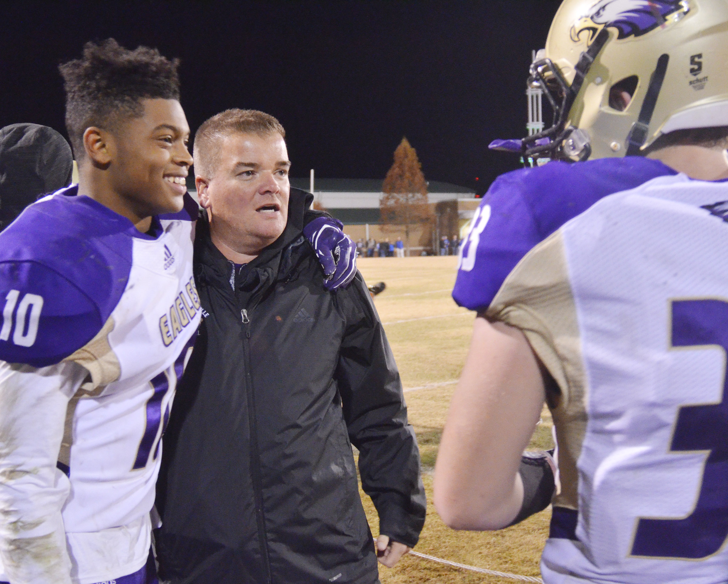 For the second year in a row, CHS head football coach Dale Estes was named Coach of the Year for Class A District 2. CHS senior Devonte Cubit was named Player of the Year.