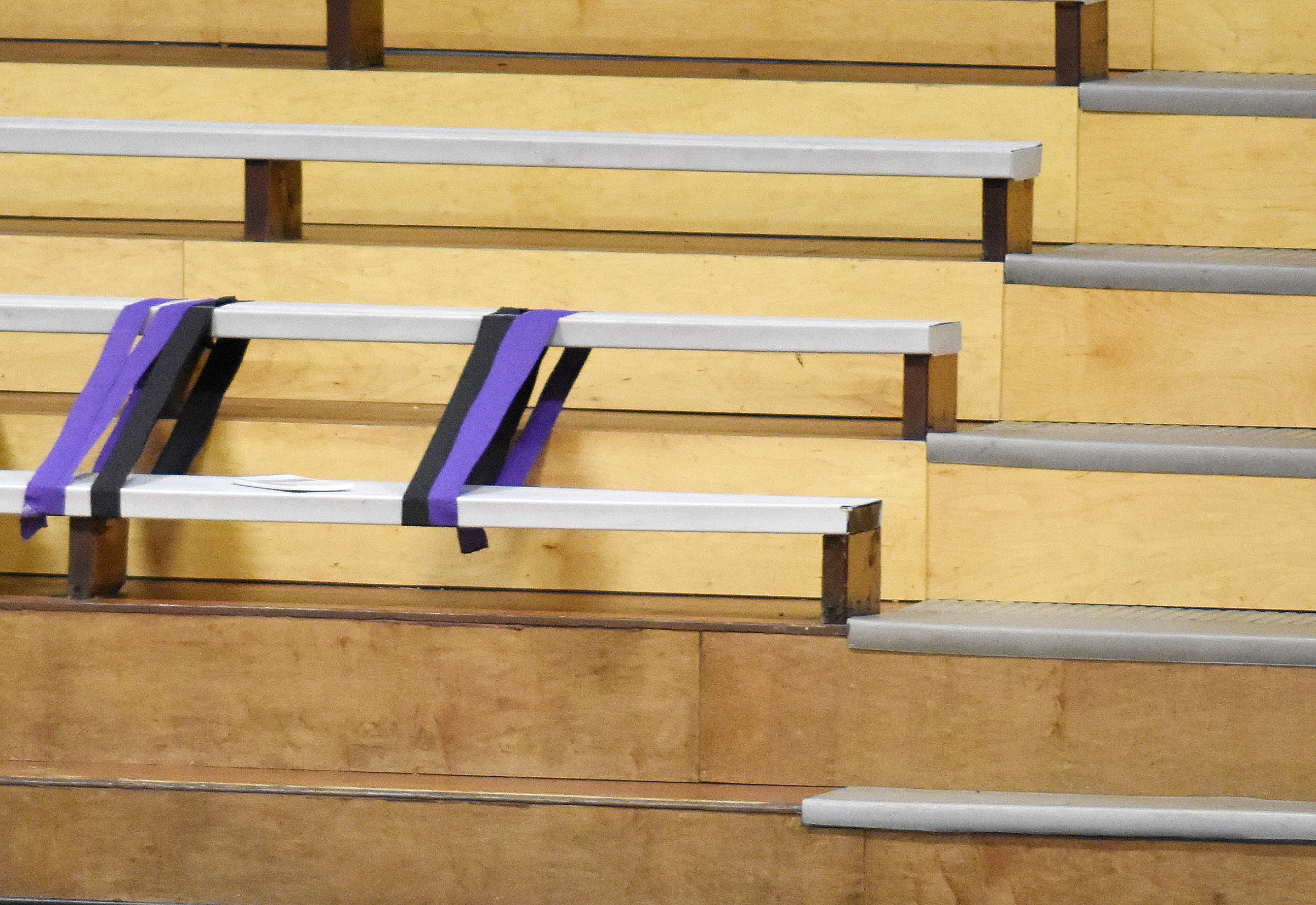 At the basketball game following his death, a notebook was placed where the late Bobby Brockman always sat in the CHS gym.