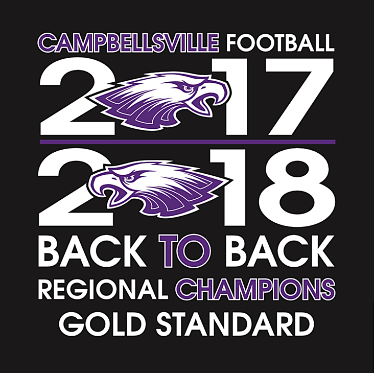 CHS Football Region Champs Shirts