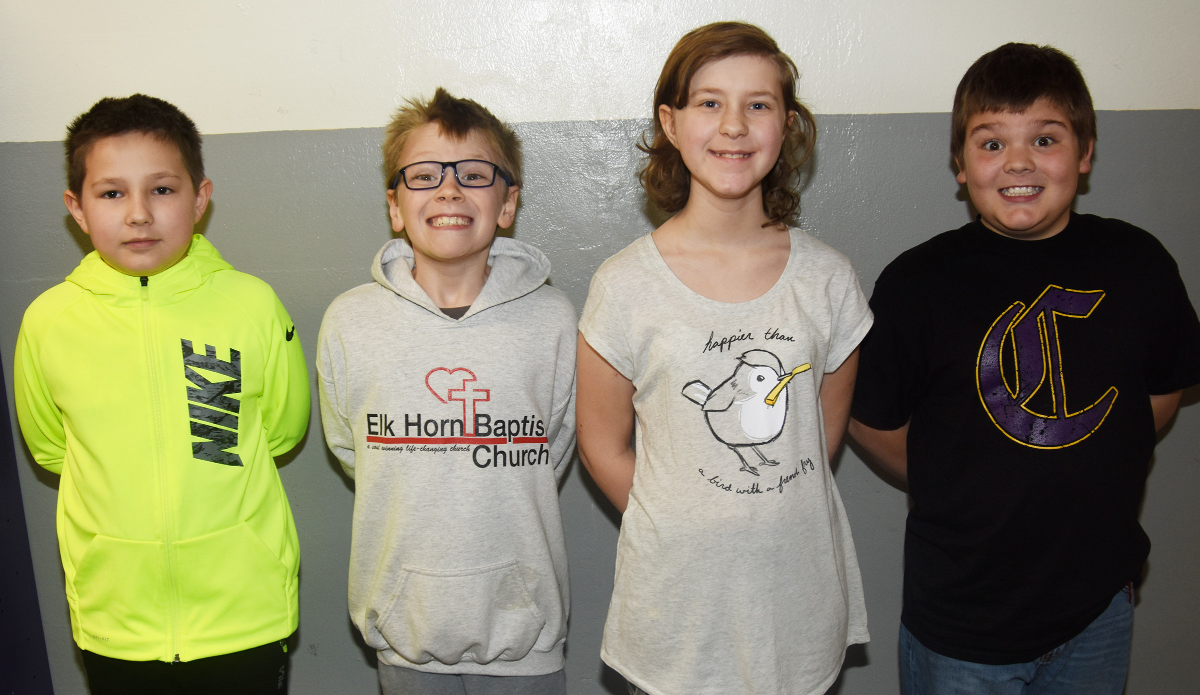 CES future problem solving students won third place at Region Governor's Cup competition. They are, from left, fourth-graders Grayson Dooley and Connor Coots and fifth-graders Bryanna Fitzgerald and Logan England.