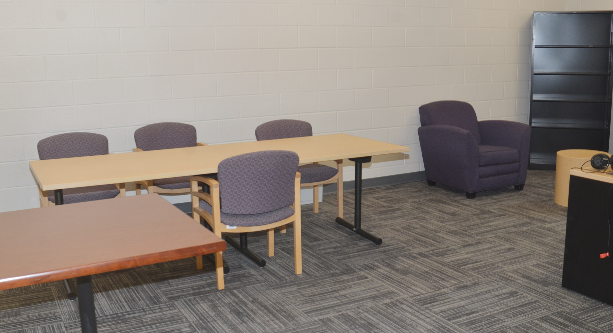 CES administrators received new office suites in the renovation, complete with new furniture.