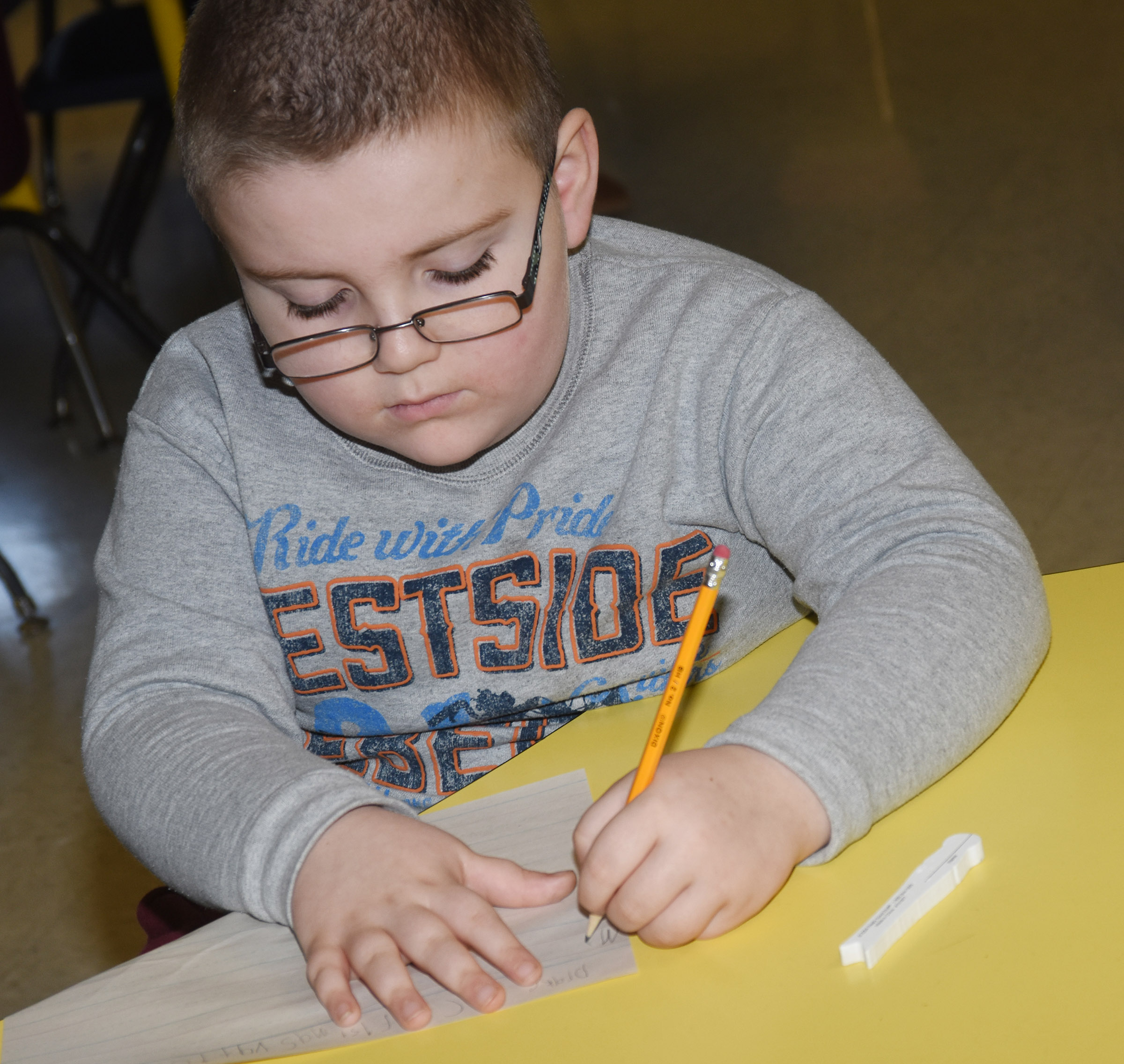 CES second-grader Drake Edwards writes about his Christmas vacation.