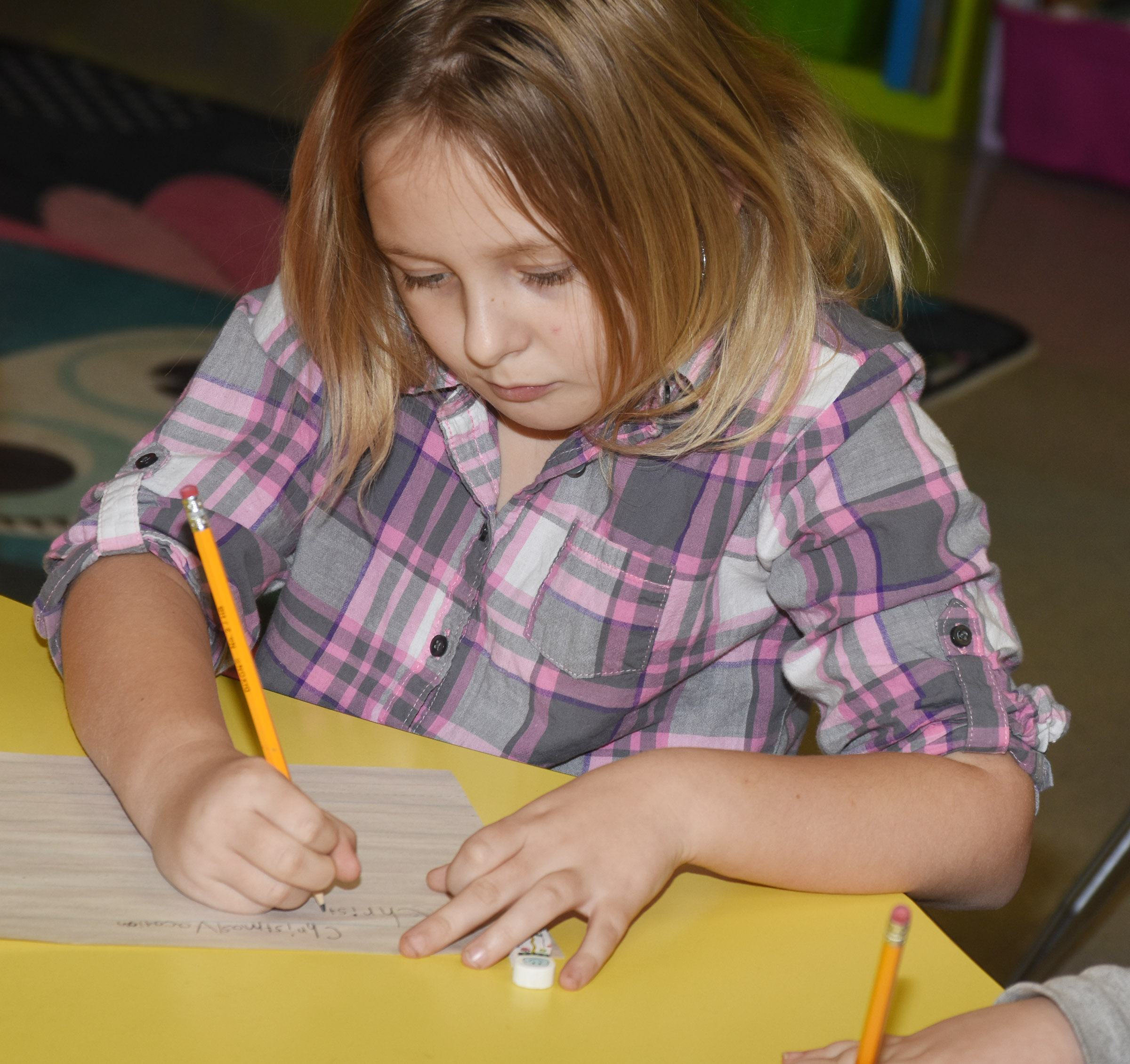 CES second-grader Allison Dean writes about her Christmas vacation.