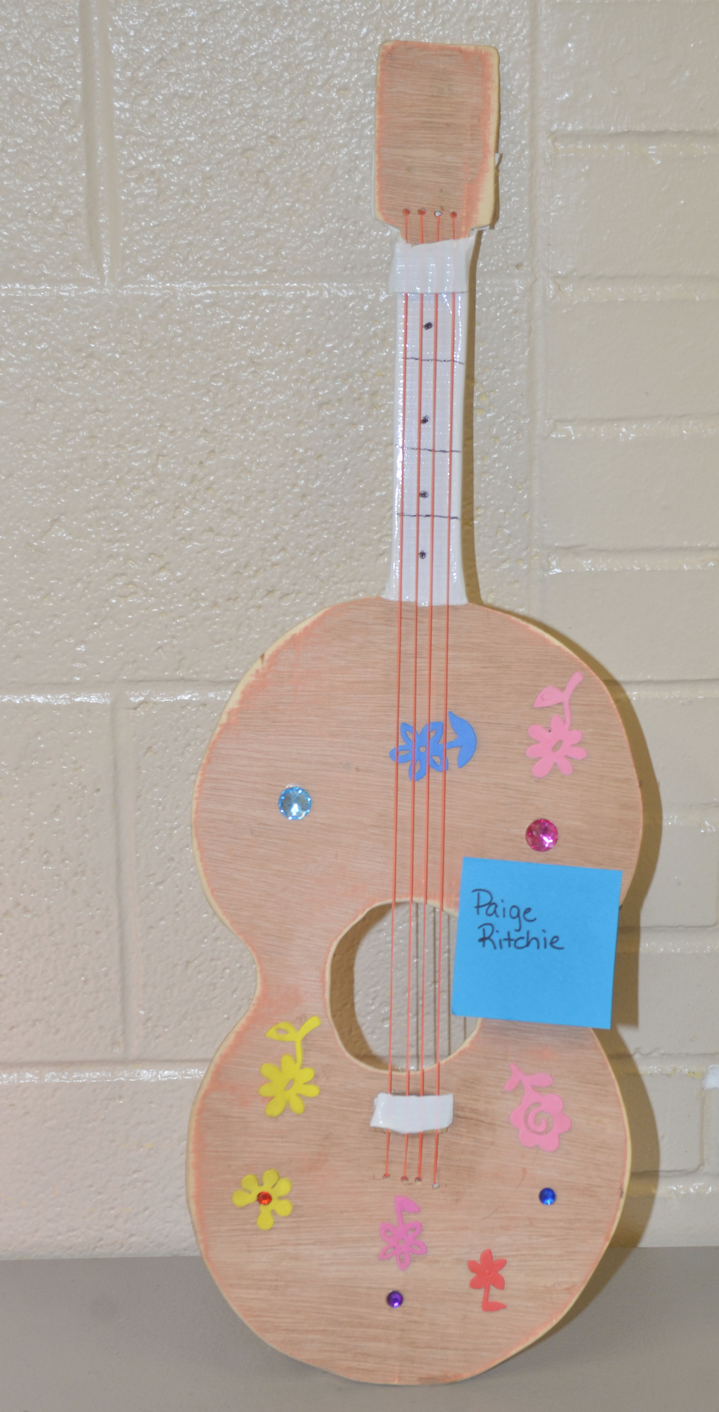 CES third-graders made their own musical instruments as part of the school's Music Week celebration.