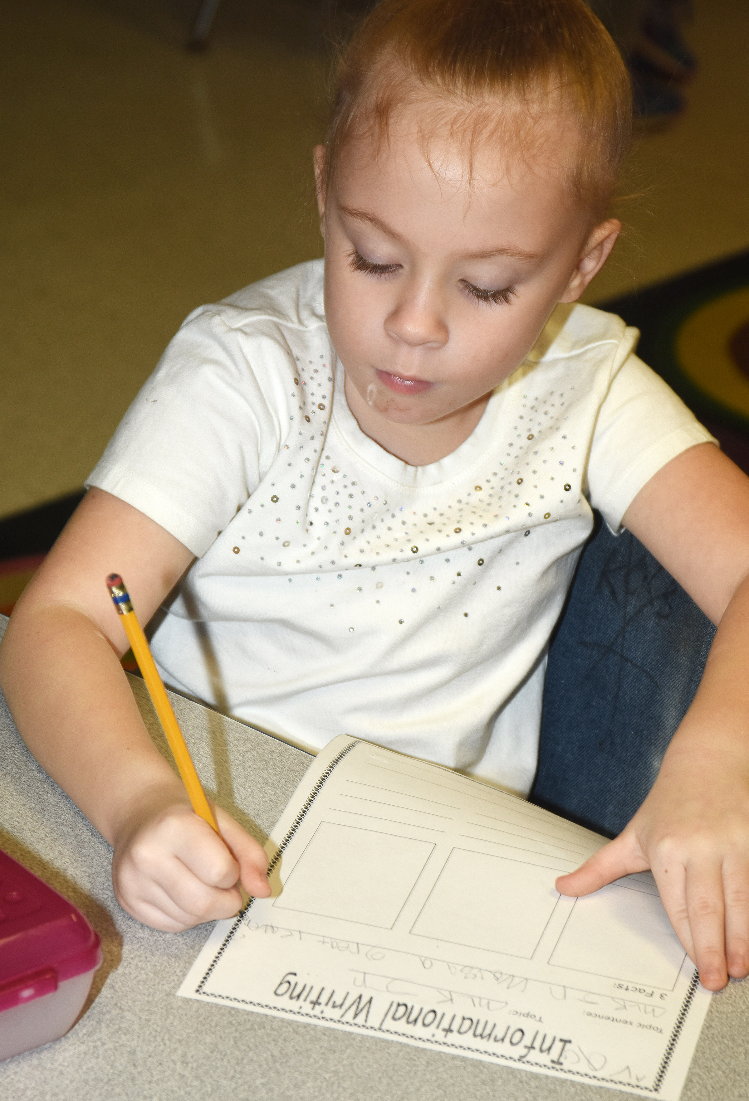 CES first-grader Ava Caffee writes about Dr. Martin Luther King Jr.