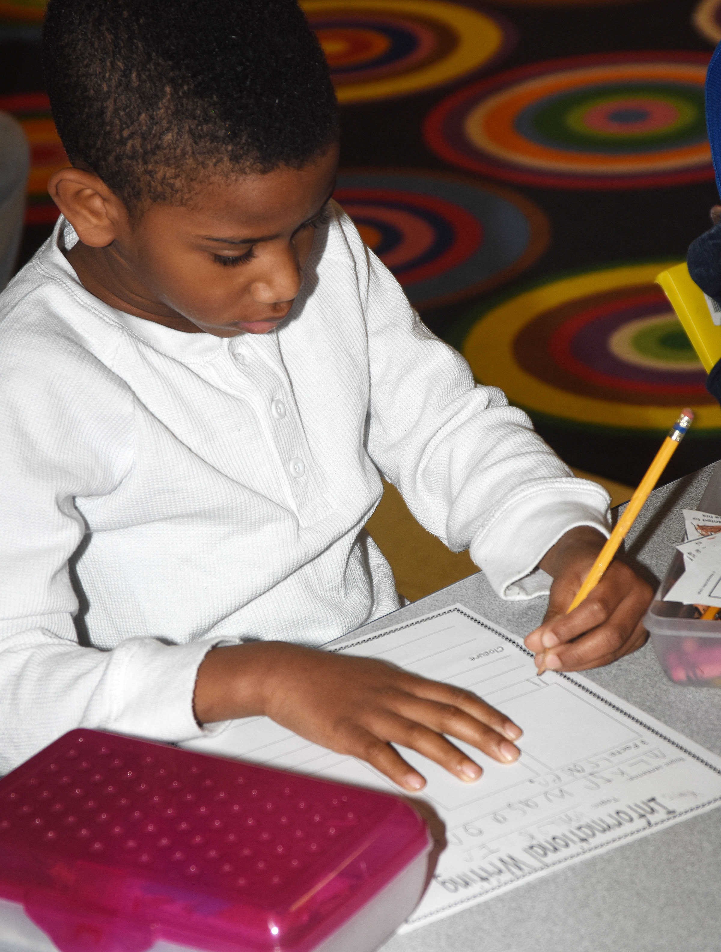 CES first-grader Kasen Smith writes about Dr. Martin Luther King Jr.