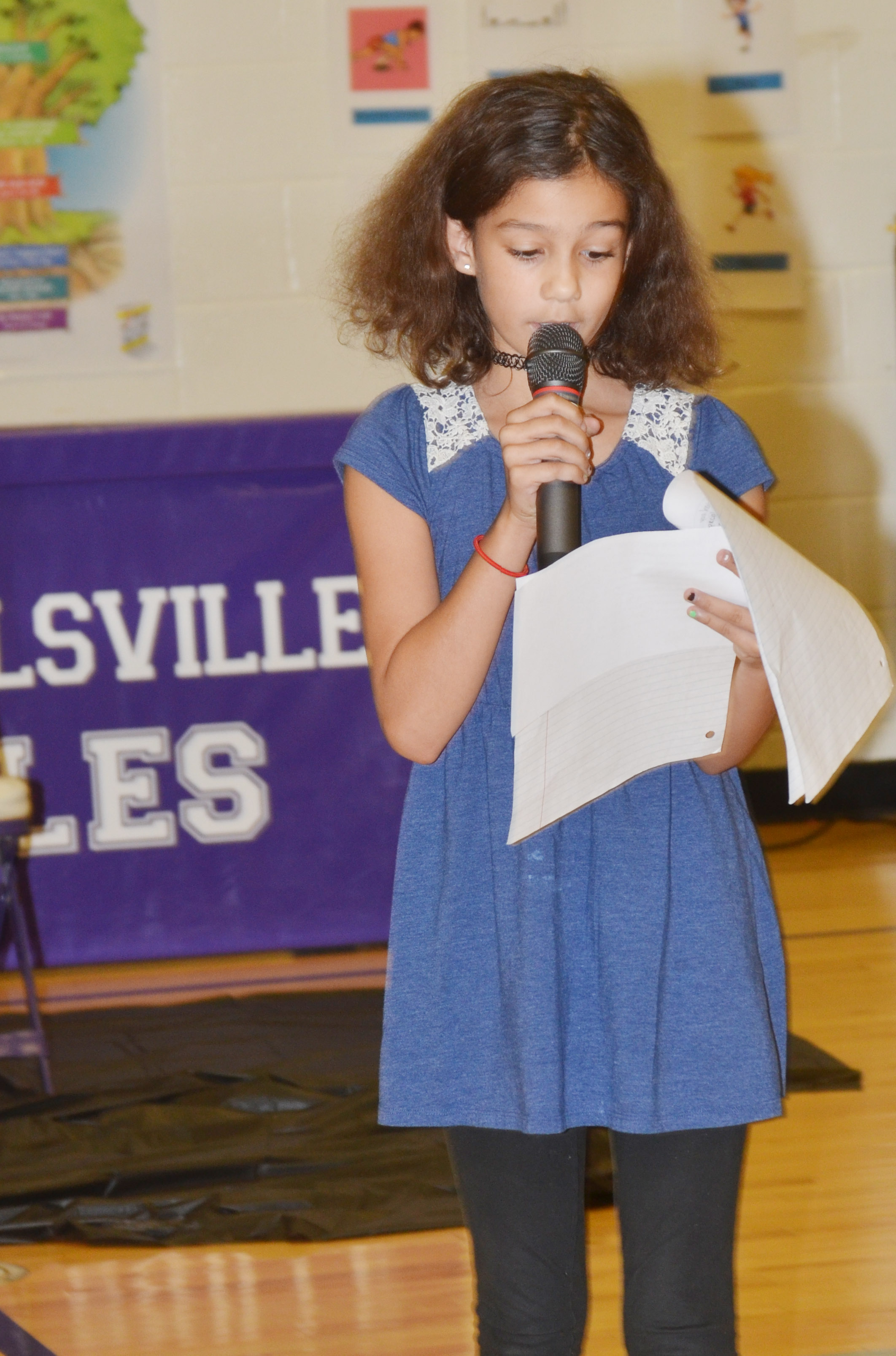 CES fifth-grader Mackenzie Negron is her school's Writer of the Week for the week of Nov. 13.