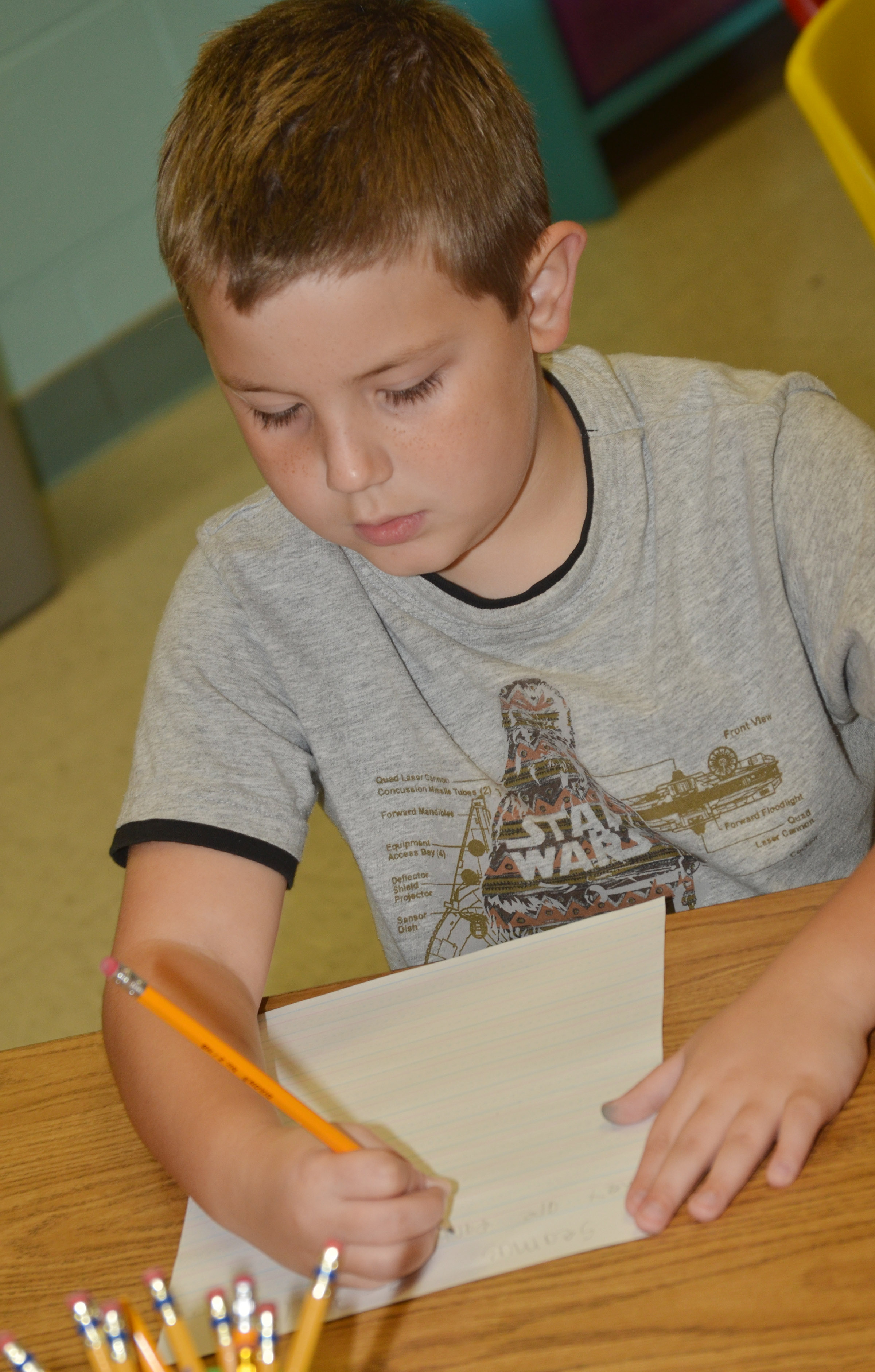 CES third-grader Seamus Huber writes about his grandparents.
