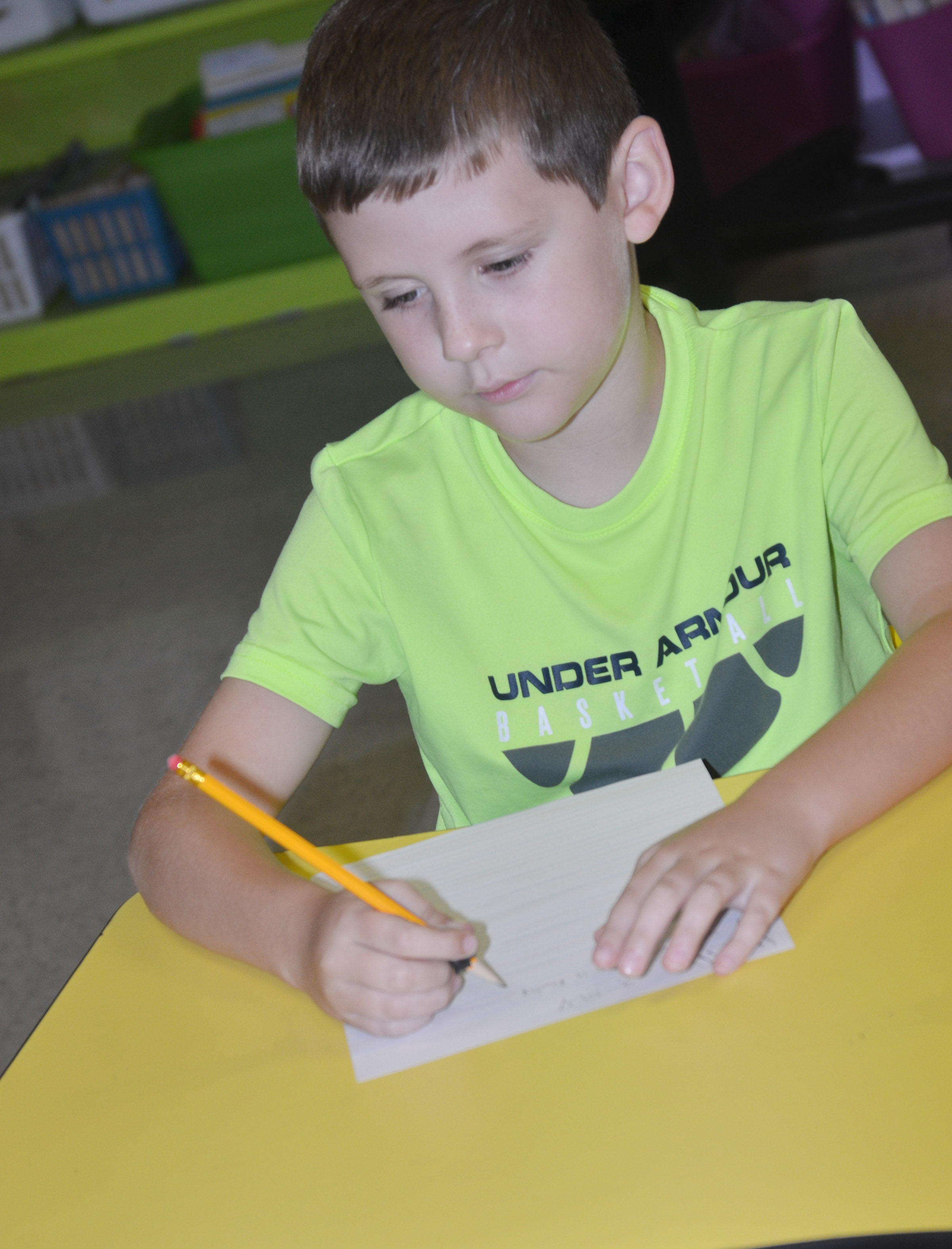 CES third-grader Ryan Tungate writes about his grandparents.