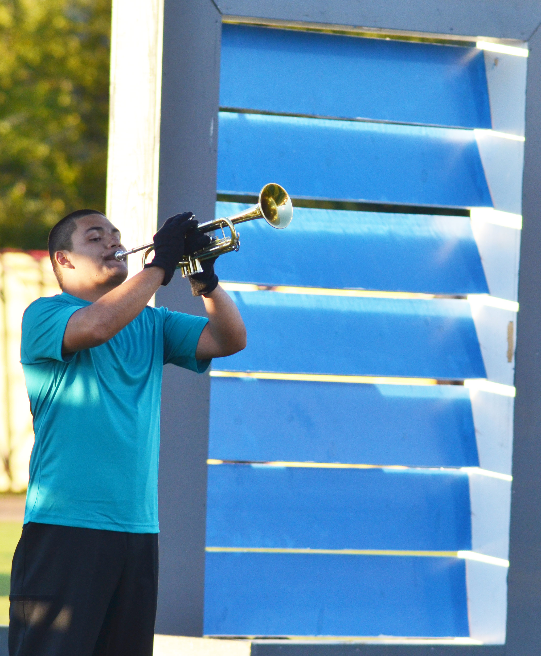 CHS junior Nick Cowan plays trumpet.
