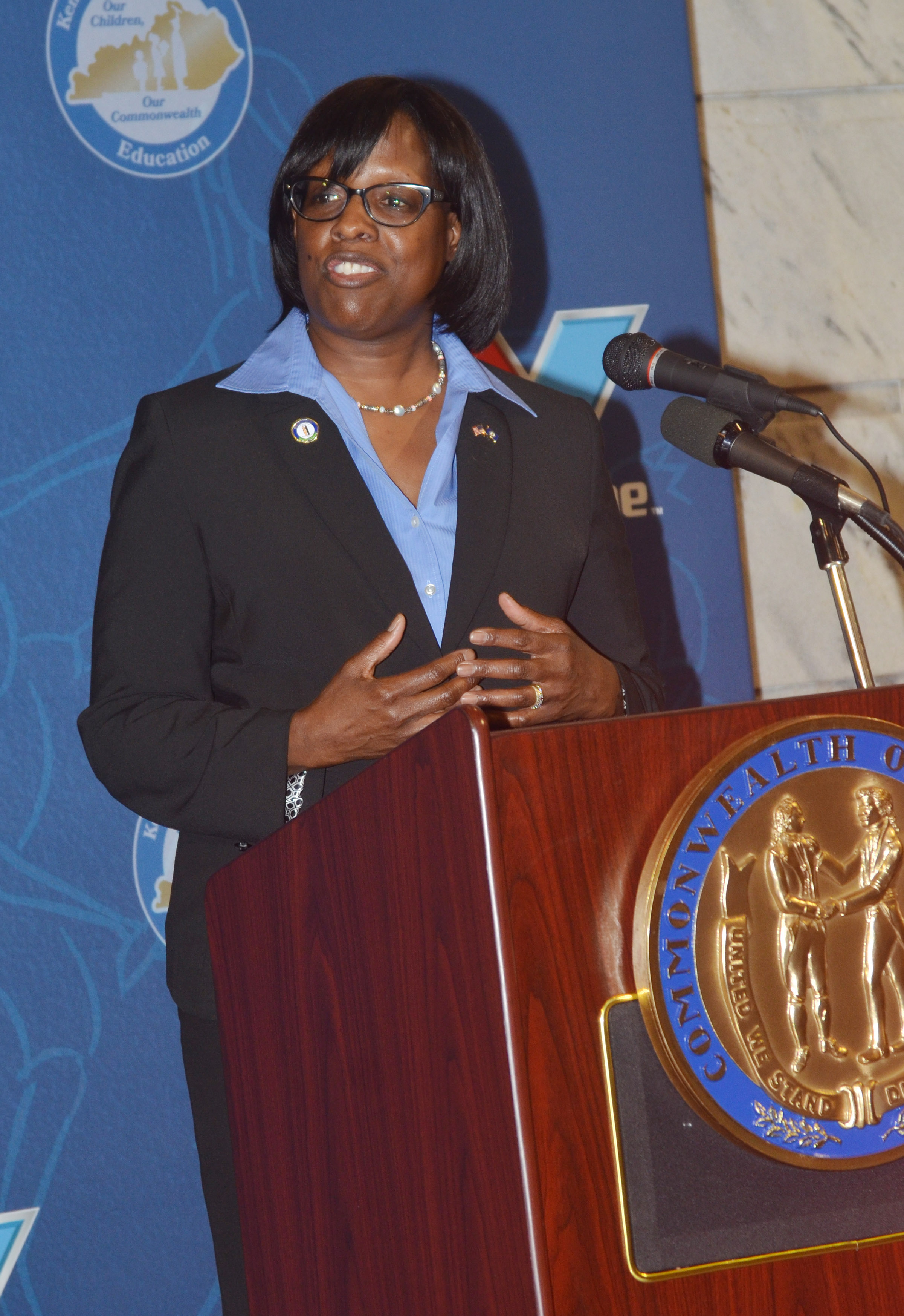 Kentucky Lt. Gov. Jenean Hampton talks about the importance of education.