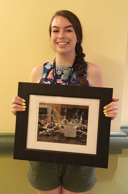 Laura Lamb, who graduated from Campbellsville High School in May, recently competed at the national Beta convention in Orlando, Fla. She competed in the photography competition.