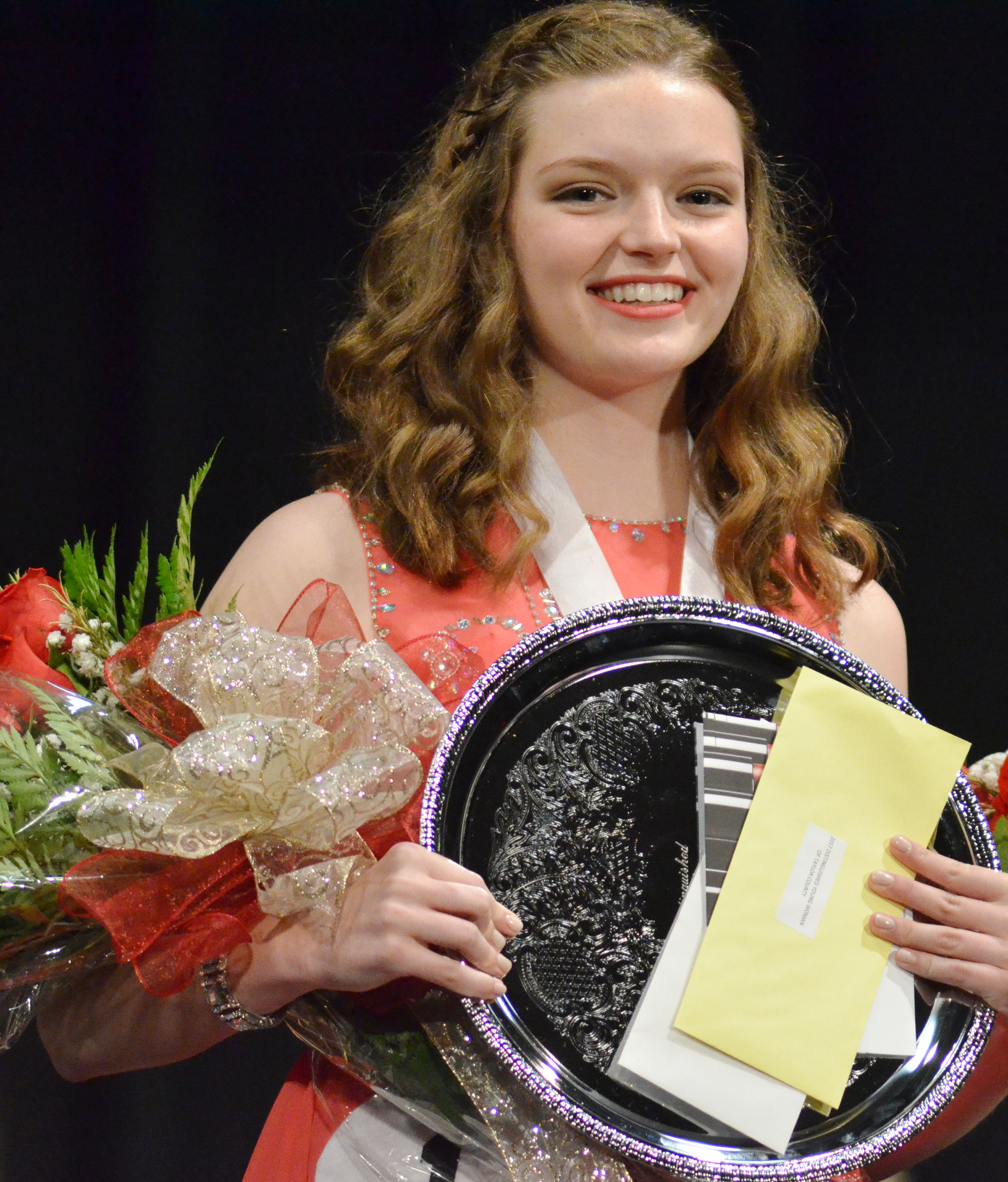 In addition to being named the Taylor County Distinguished Young Woman last June, CHS senior Blair Lamb won the Be Your Best Self Award, the overall scholastic and self-expression awards and preliminary awards in fitness, talent and interview. Lamb will compete in the state DYW program in Lexington on Jan. 13 and 14.