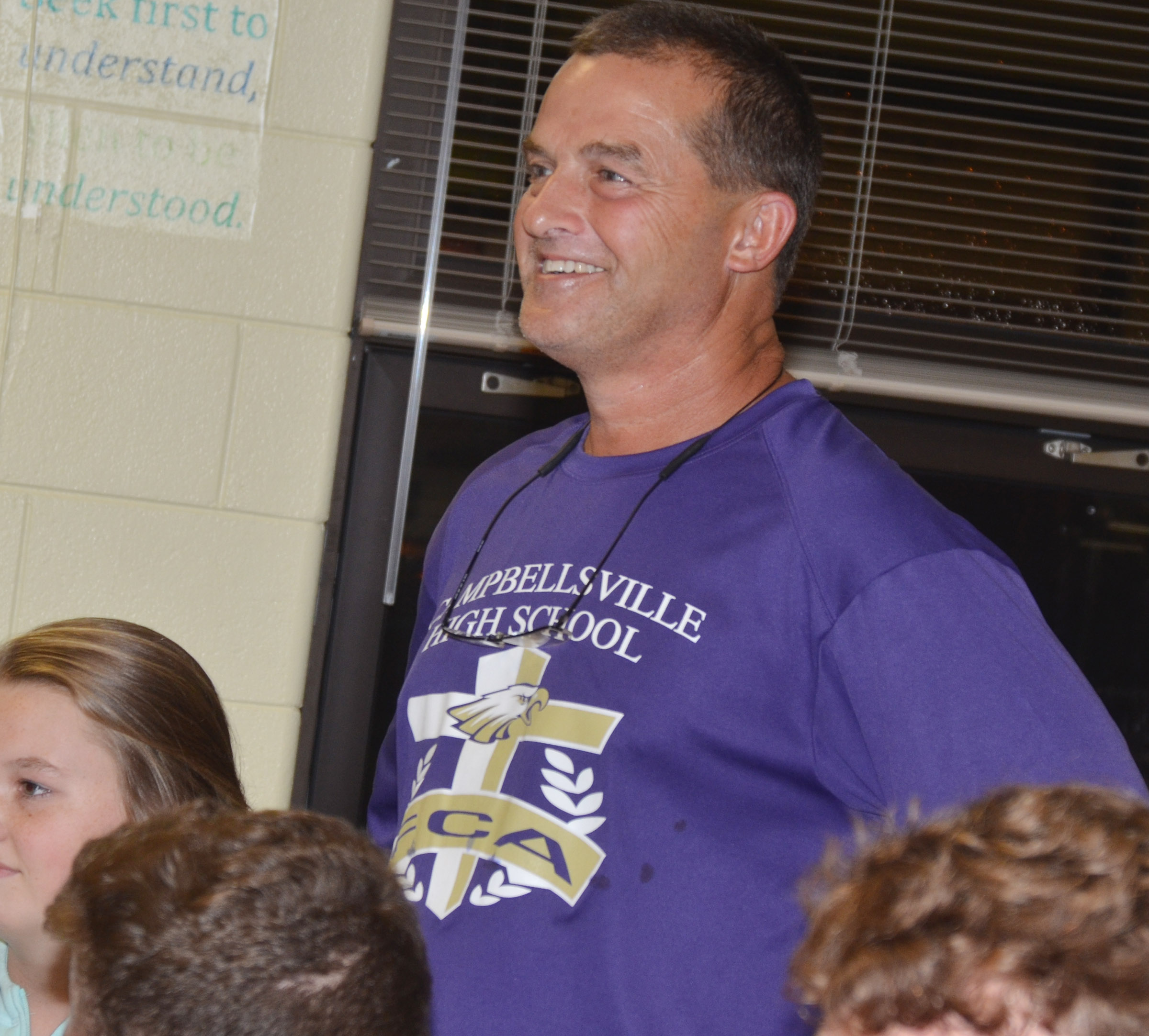 CHS FCA huddle leader Lynn Kearney talks about his relationship with God.