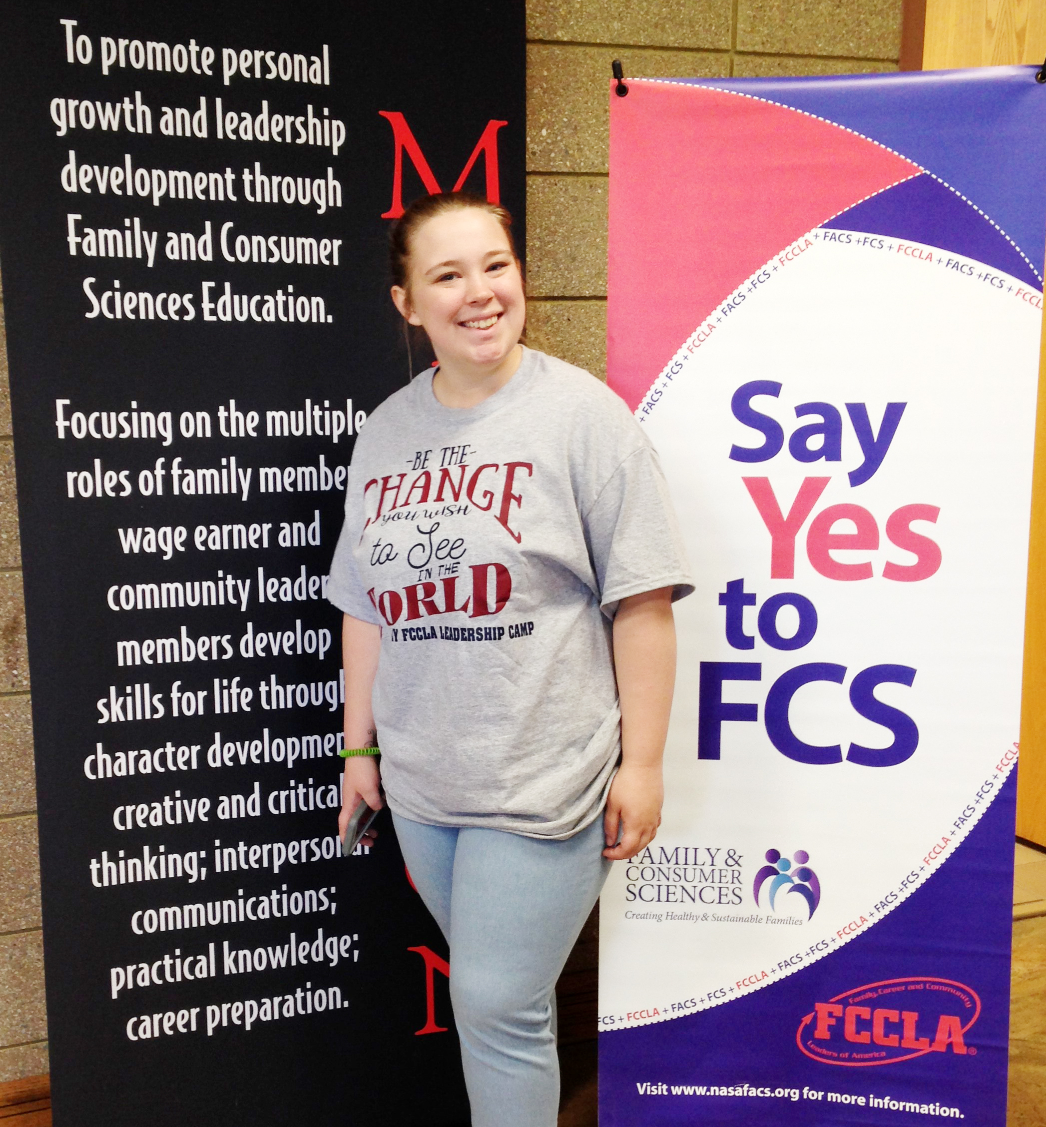 Chs Student Attends Fccla State Leadership Camp Campbellsville