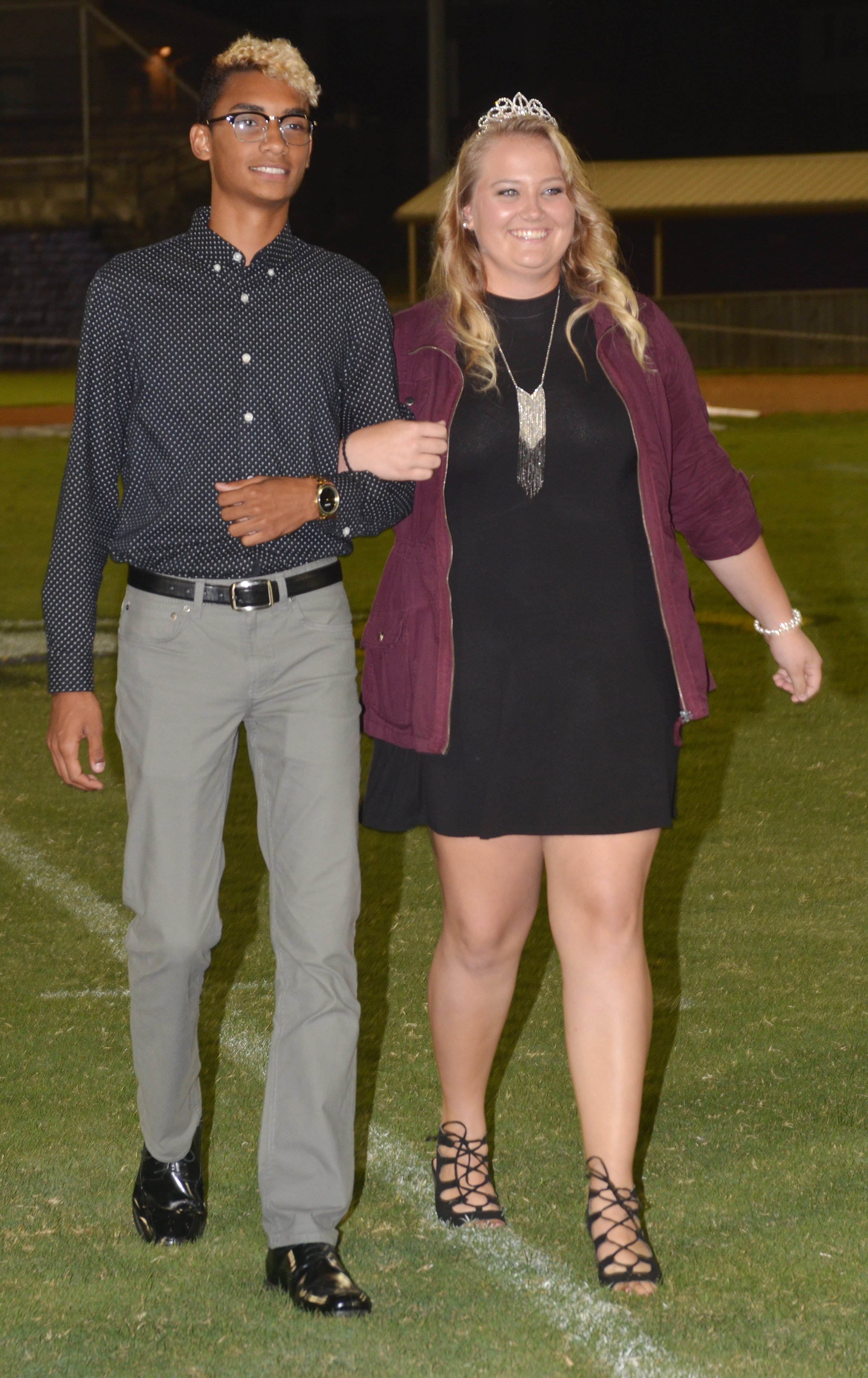 Daniel Silva and Brenna Wethington, who graduated from CHS in May, were last year's football homecoming king and queen.