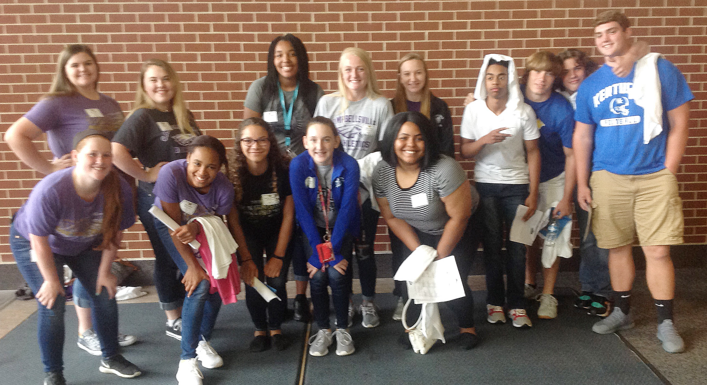 CHS student athletes attended the Kentucky High School Athletic Association's HYPE leadership conference on Monday, Aug. 28. Those attending are, from left, front, sophomores Gracie Miller, Isis Coleman, Taliyah Hazelwood and Zoe McAninch and junior Natalie Caldwell. Back, seniors Vivian Brown and Haley Fitch, juniors Malaya Hoskins and Abbie Dicken, senior Madison Dial and juniors Davon Cecil, Tristian Johnson, Treyce Mattingly and Lane Bottoms.