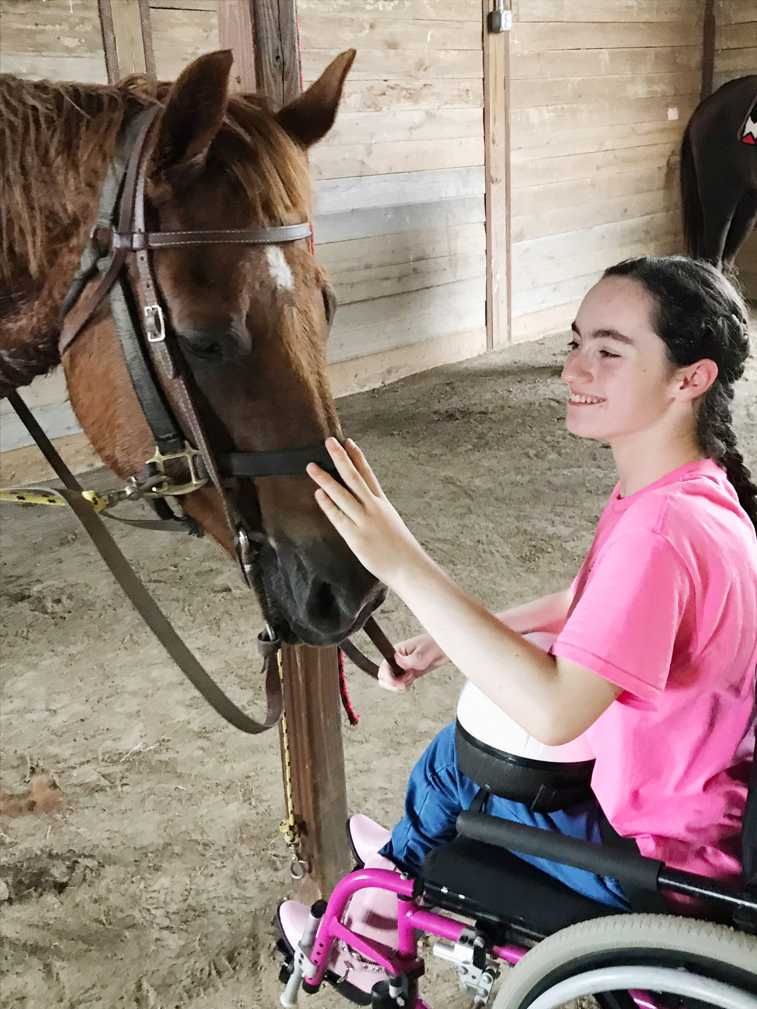 CHS sophomore Jewell Cox attends horse therapy sessions at The REATH Center in Campbellsville, and will demonstrate riding techniques at a free fall festival at the center on Saturday, Oct. 14, from 11 a.m. to 4 p.m.