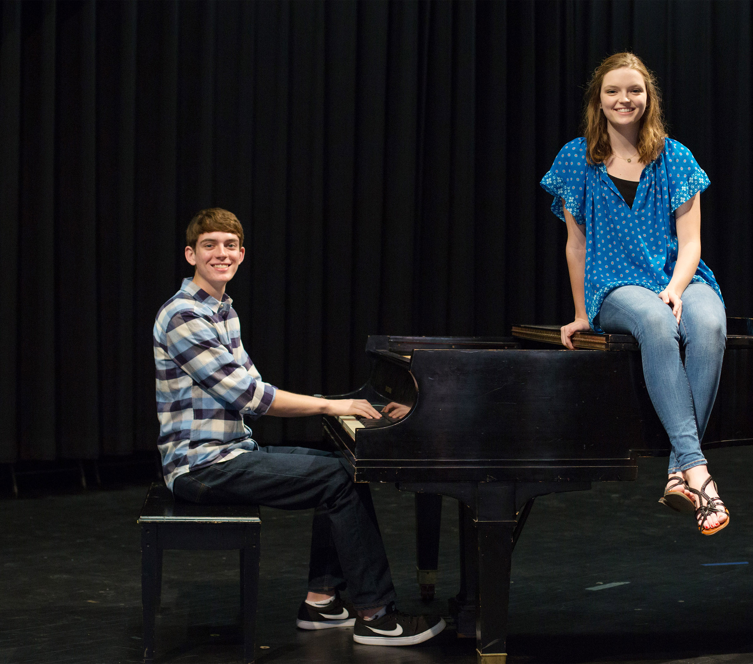 Blair Lamb and Murphy Lamb were voted Most Talented.