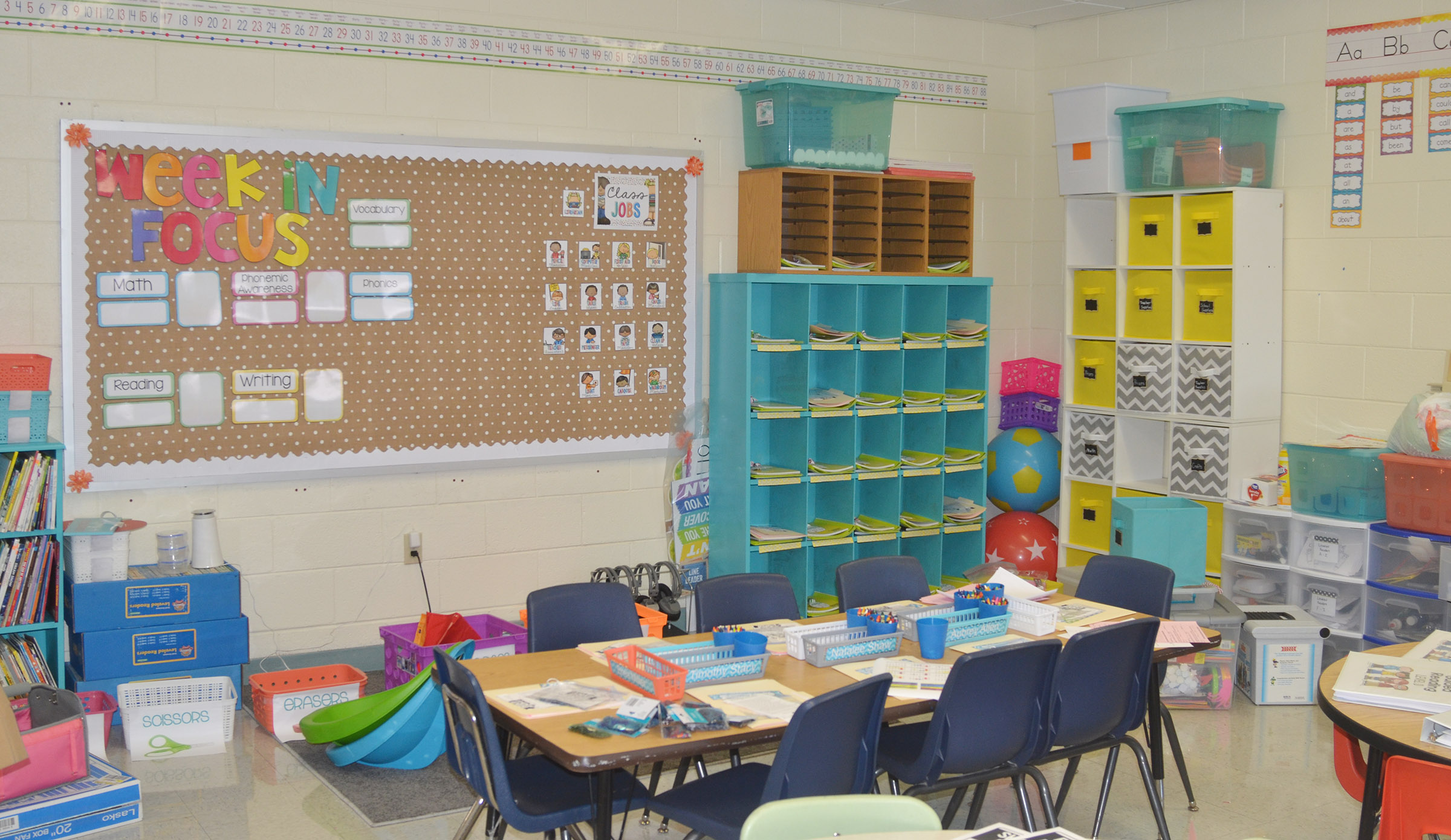 CES teachers have spent several weeks preparing their classrooms for the 2017-2018 school year.
