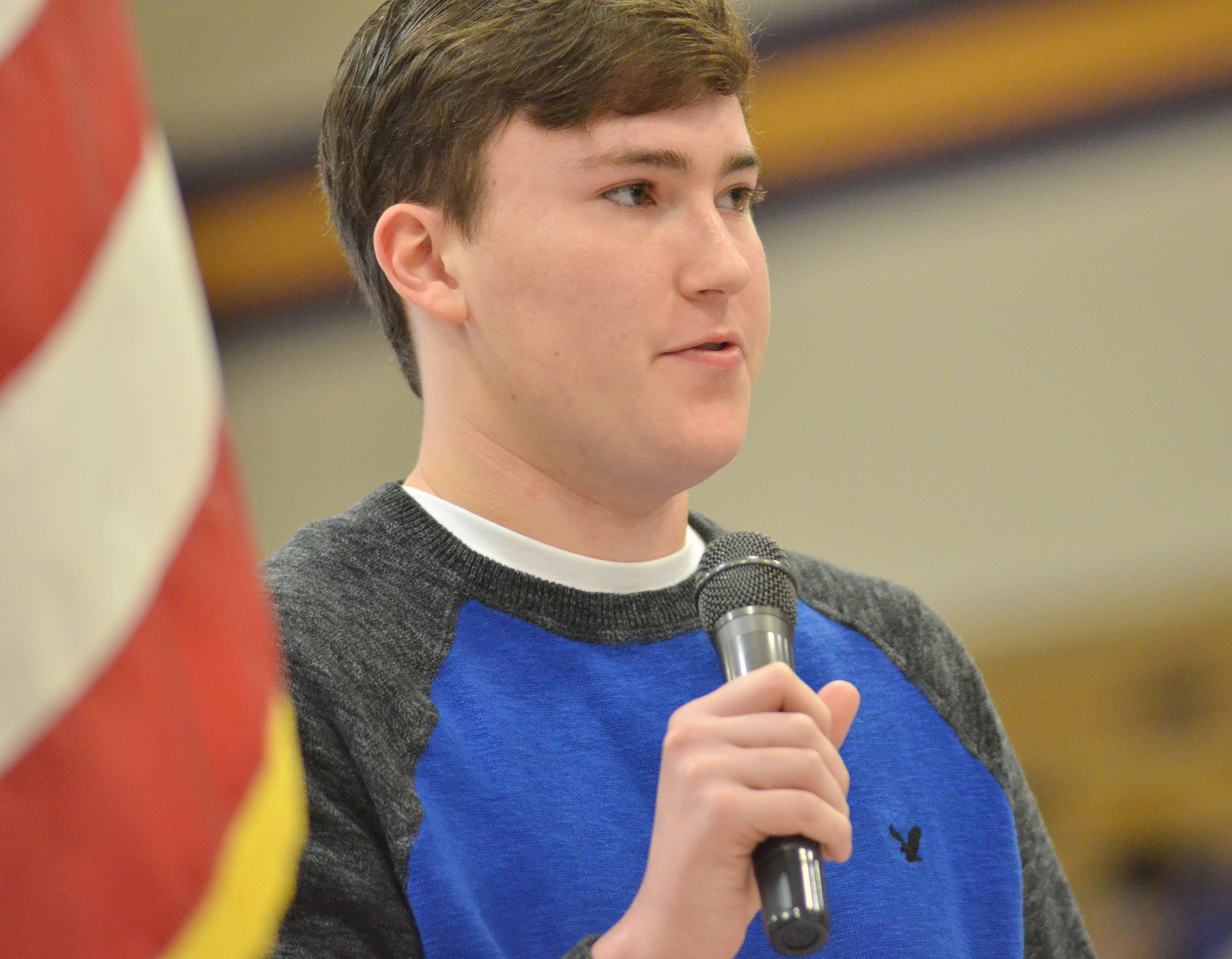 CHS senior Zack Settle discusses what Veterans Day means to him.