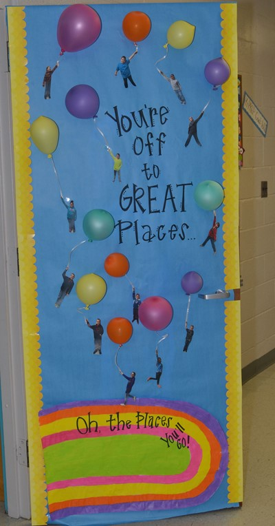 Classroom Decorations For Nursery ~ Cms teachers compete in dr seuss door decorating contest
