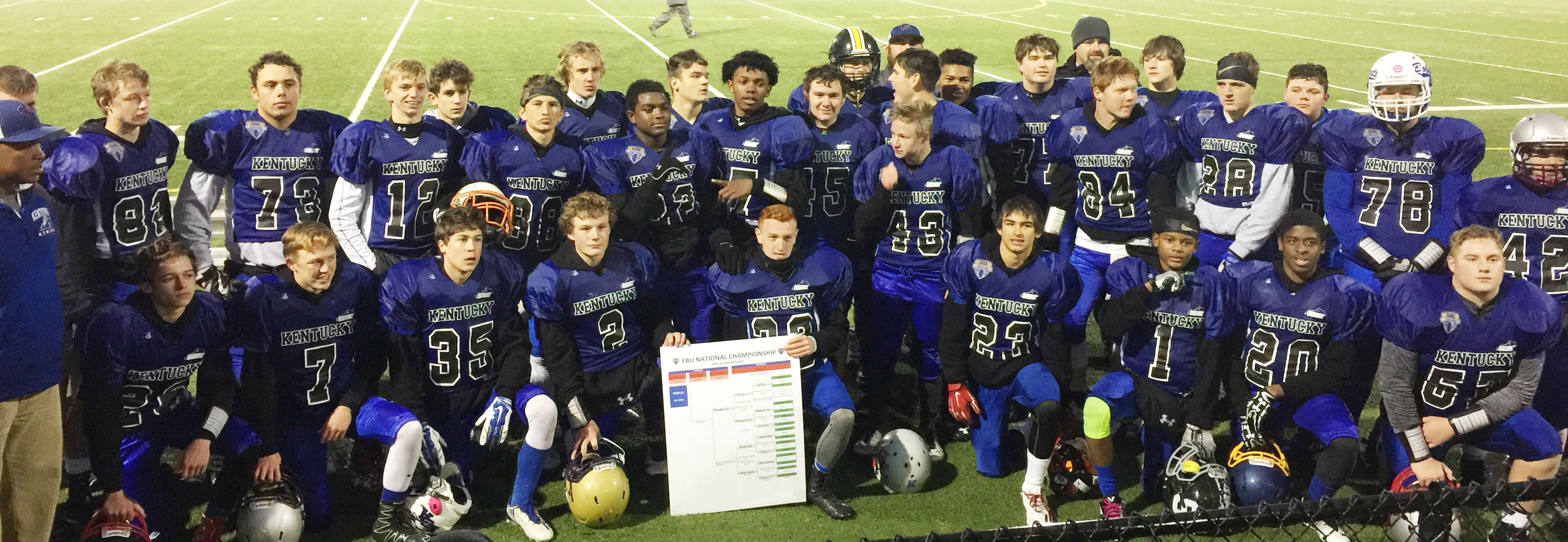 Team Kentucky now advances to the FBU National Championship in Naples, Fla., on Dec 17-20.