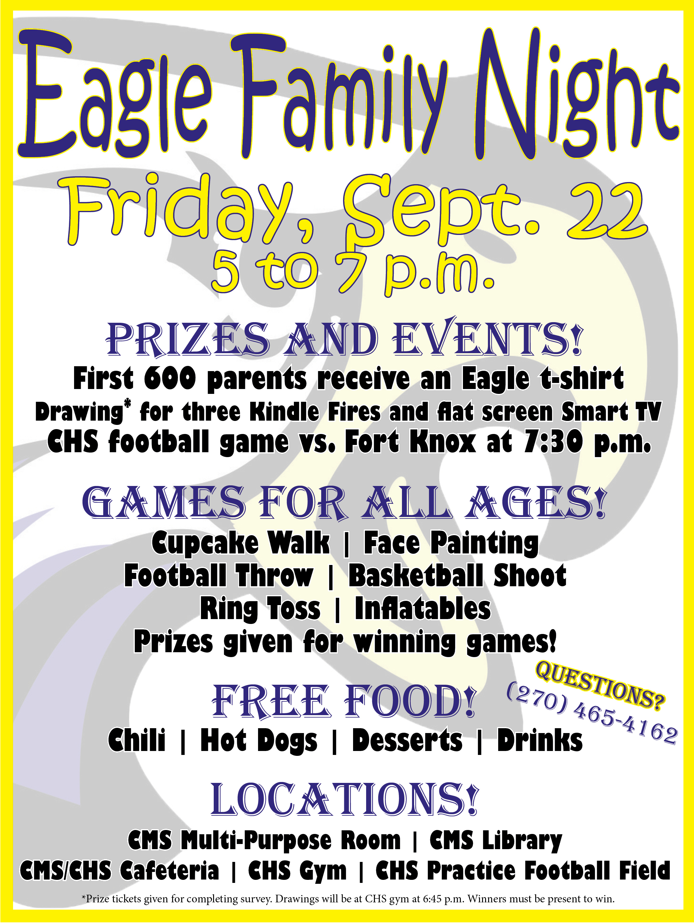 Eagle Family Night